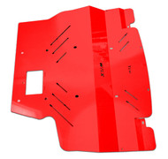 2015+ Subaru WRX Aluminum Engine Under Tray Skid Plate RED (15WRXEngineRD)