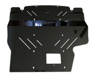 2015+ Subaru WRX Aluminum Engine Under Tray Skid Plate BLACK (15WRXEngineBK)