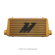 "Universal M-line Intercooler GOLD 3"" in/out"
