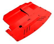 2004-2006 Infiniti G35X Aluminum Under Tray RED
