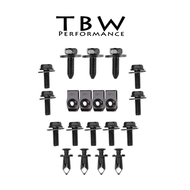 Under Tray Hardware Kit for 15-18 Subaru STI