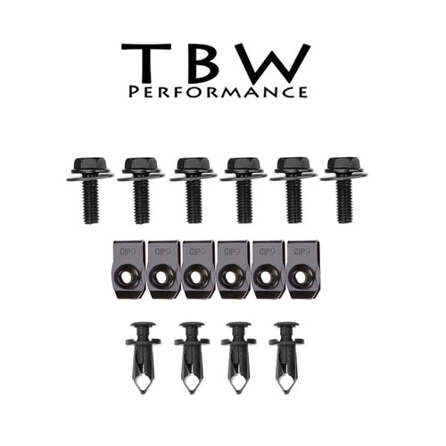 Under Tray Hardware Kit for 15-18 Subaru WRX