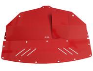 Aluminum Under Tray for AWD 2014-2020 Infiniti Q50 & 2016-2020 Q60 (V37) RED