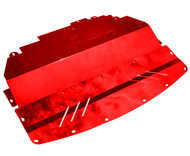 Aluminum Under Tray for RWD 2014-2019 Infiniti Q50 & 2016-2019  Q60 (V37) RED