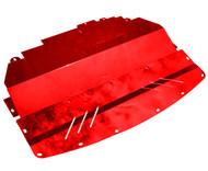 Aluminum Under Tray for RWD 2014-2020 Infiniti Q50 & 2016-2020  Q60 (V37) RED