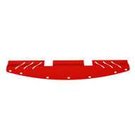 Replacement Front Panel for 11-14 Subaru WRX / STI Aluminum Engine Under Tray RED
