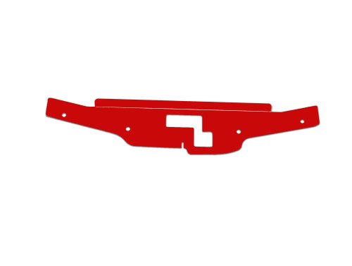 G35 Coupe Aluminum Diversion Panel RED