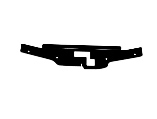 G35 Coupe Aluminum Diversion Panel BLACK