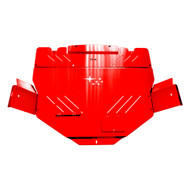 15+ STI RALLY plate in RED