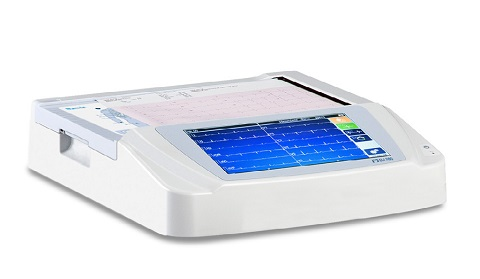 Burdick ELI 280 Resting 12-Lead Interpretive ECG Machine with Color Display