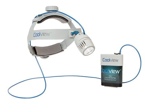 Surgical Headlight - Coolview 1400-XT Including Batteries and Chargers