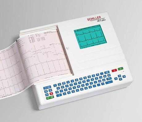 Schiller Resting ECG Machine Cardiovit AT-2 plus ECG Spirometry