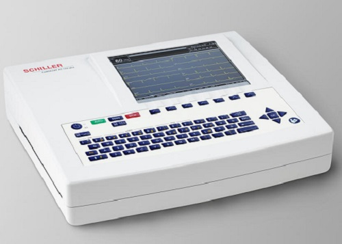 Schiller Resting EKG Machine AT-102 Plus ECG with Spirometry