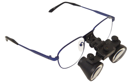 Surgical Loupes with Prescription Glasses