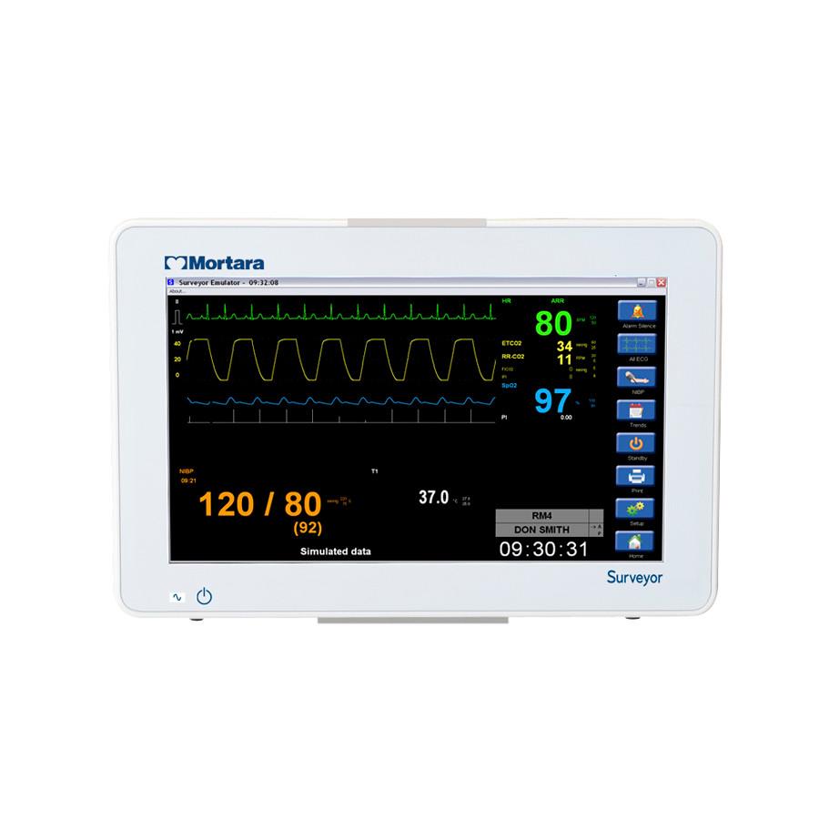 Mortara Surveyor S12 Patient Monitor-Touchscreen Color Display