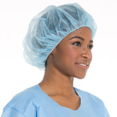Halyard Health Bouffant Caps-Blue