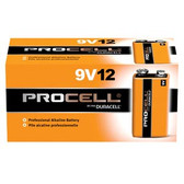 Duracell Procell Alkaline Batteries 9V