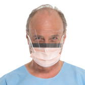 Halyard Health FLUIDSHIELD Level 3 Procedure Mask w/Visor 47137