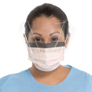 FLUIDSHIELD Level 3 Fog-Free Procedure Mask, WrapAround Visor