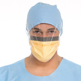 Halyard Health FLUIDSHIELD Level 3 Surgical Mask w/Visor