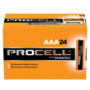 Duracell Procell Alkaline Batteries AAA