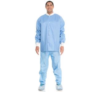 Halyard Health Professional Lab Jacket Blue