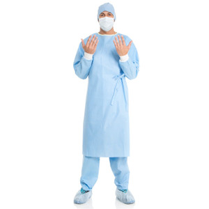 EVOLUTION 4 Set-In-Sleeve Non-Reinforced Surgical Gown
