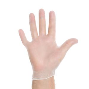 Halyard Health Vinyl Exam Gloves Clear