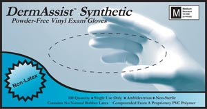 Vinyl Exam Gloves-DermAssist
