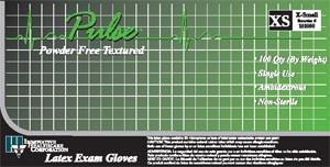 Latex Exam Gloves-Pulse