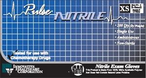 Nitrile Exam Gloves-Pulse