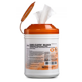 PDI Sani-Cloth Bleach Surface Disinfectant Wipes