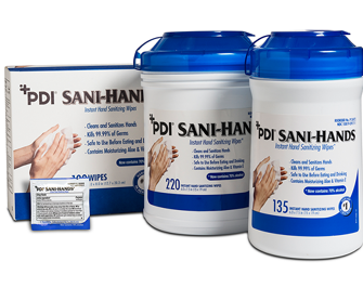 PDI Sani-Hands Instant Hand Sanitizing Wipes