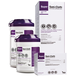PDI Super Sani-Cloth Surface Disinfectant Germicidal Wipes