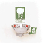 Wall-Mounted Emergency Eye and Face Wash Station Opti-Klens 1M