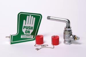 Opti-Klens 1M Push Paddle Sticker