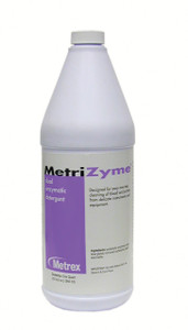 Metrex Research MetriZyme Dual Enzymatic Detergent Instrument Cleaner-1 qt