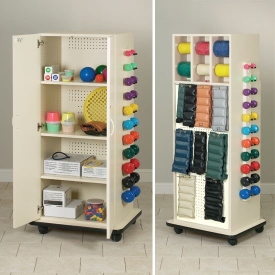 Physical Therapy Cabinet Rack With Doors Usa Medical And Surgical Supplies