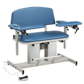 Clinton Bariatric Blood Drawing Chair Padded Arms Power Series 6361