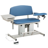 Bariatric Blood Drawing Chair Padded Arm Drawer Power Series