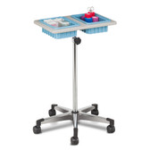 Mobile Phlebotomy Stand Two-Bin