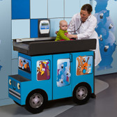 Pedatric Exam Room Scale Table and Cabinet Outback Buggy