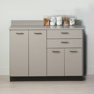 "Clinton 48"" Base Cabinet with 4 Doors and 2 Drawers 8048"