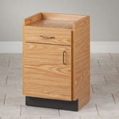 "Clinton Bedside Cabinet 28"" High 8711"