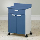 Mobile Treatment Cabinet with 2 Doors 1 Drawer