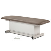 Shrouded Power Table with One Piece Top