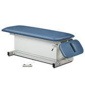 Shrouded Space Saver Power Table with Drop Section
