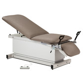 Shrouded Power Table with Stirrups Adjustable Backrest Footrest