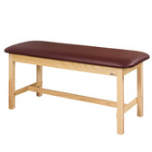 "Treatment Table 30"" Wide Flat Top Classic Series Straight Line"