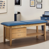 "Treatment Table with 2 Drawers 27"" Wide ETA Classic Series"